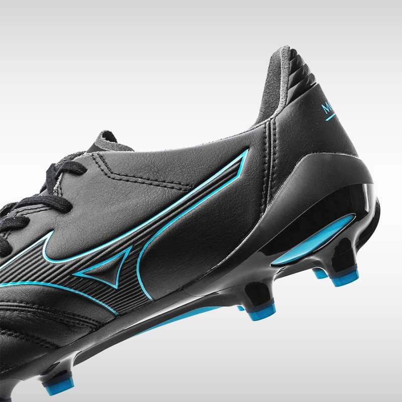 new concept eb19a 9da38 Mizuno Morelia Neo II MD (Black/Blue)